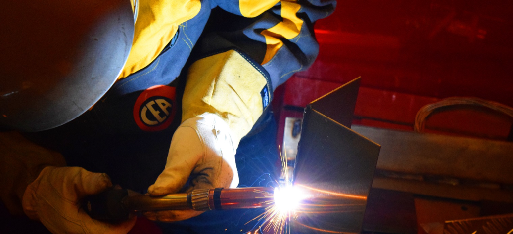 The advantages of pulsed-arc MIG welding